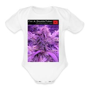 DoobieTuber1 - Short Sleeve Baby Bodysuit