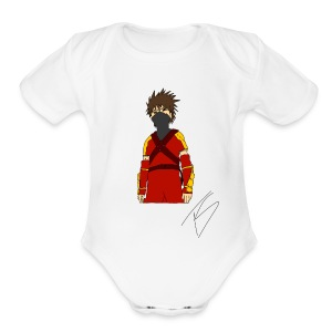 Ninja - Short Sleeve Baby Bodysuit