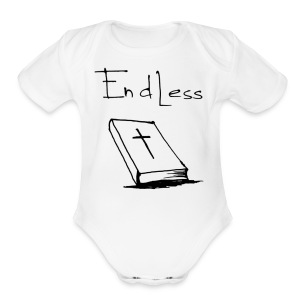 endless - Short Sleeve Baby Bodysuit