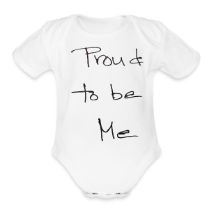 proud - Short Sleeve Baby Bodysuit