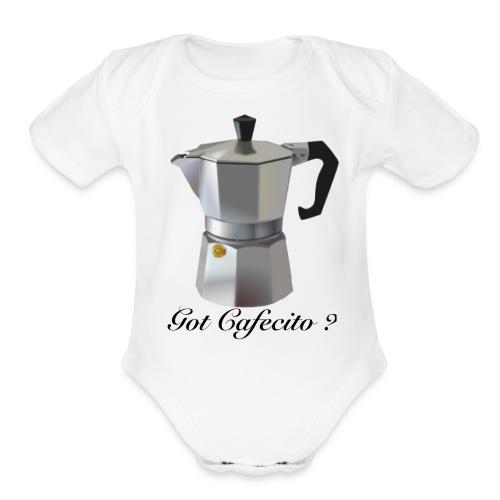 Cafecito - Organic Short Sleeve Baby Bodysuit