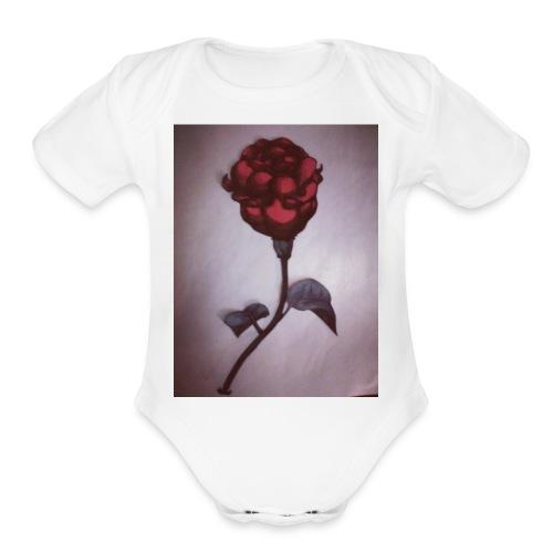 Bloom - Organic Short Sleeve Baby Bodysuit