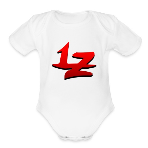 Legndz LZ Logo - Organic Short Sleeve Baby Bodysuit