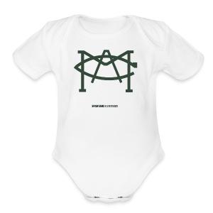 MACLOGO - Short Sleeve Baby Bodysuit