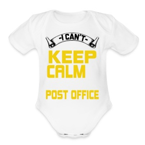 i work at the post office t shirt - Short Sleeve Baby Bodysuit