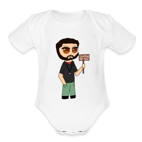 Chibi Mejia - Organic Short Sleeve Baby Bodysuit