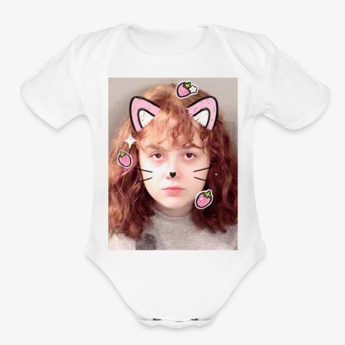 Tiff's Mugshot - Organic Short Sleeve Baby Bodysuit