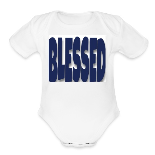 Blessed 2 - Organic Short Sleeve Baby Bodysuit
