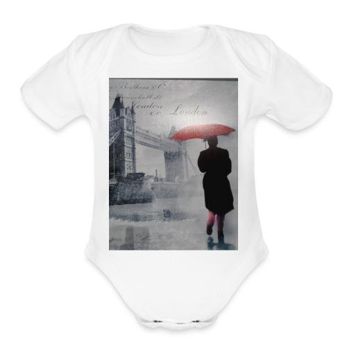 Xenos33. - Organic Short Sleeve Baby Bodysuit