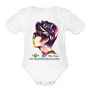 2018 Dimash Reaction Marathon - Short Sleeve Baby Bodysuit