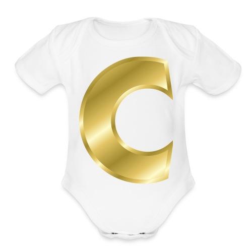 C - Organic Short Sleeve Baby Bodysuit