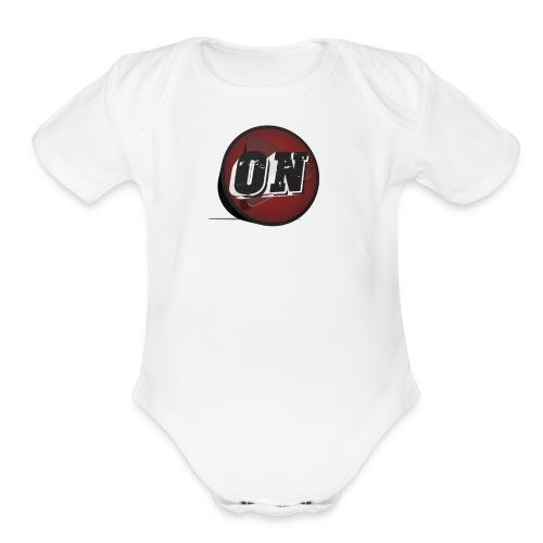 Obscuro Notícias 3D - Organic Short Sleeve Baby Bodysuit