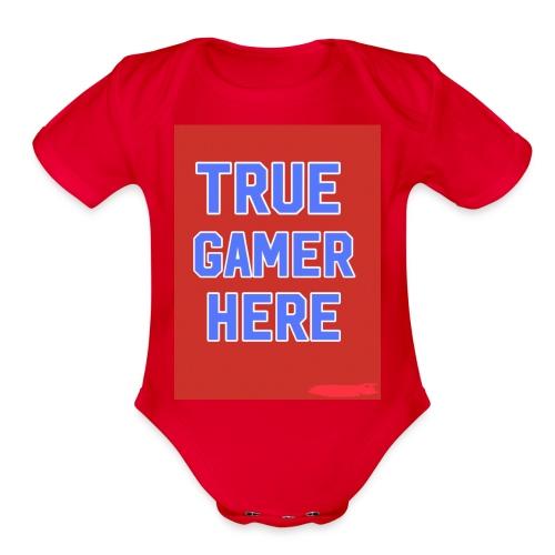 58722AF6 0345 4B70 A70B FBF270884866 - Organic Short Sleeve Baby Bodysuit