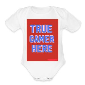 58722AF6 0345 4B70 A70B FBF270884866 - Short Sleeve Baby Bodysuit