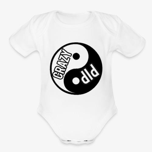 Crazy pip co0l murch - Organic Short Sleeve Baby Bodysuit