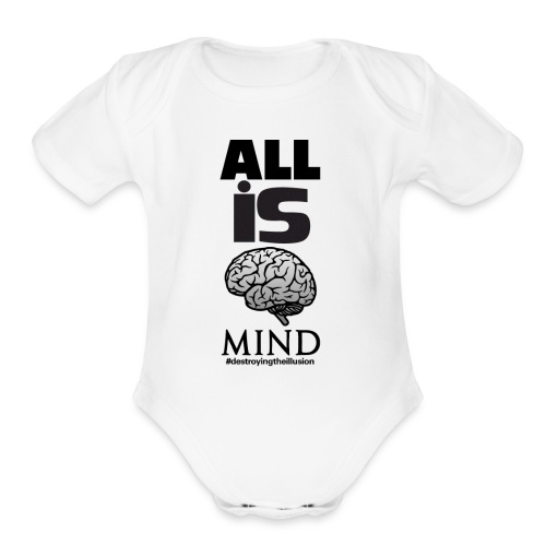 All is Mind - Organic Short Sleeve Baby Bodysuit