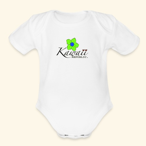 Welcome Spring with Kawaii Republic - Organic Short Sleeve Baby Bodysuit