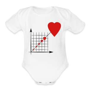 Love Diagram - Short Sleeve Baby Bodysuit