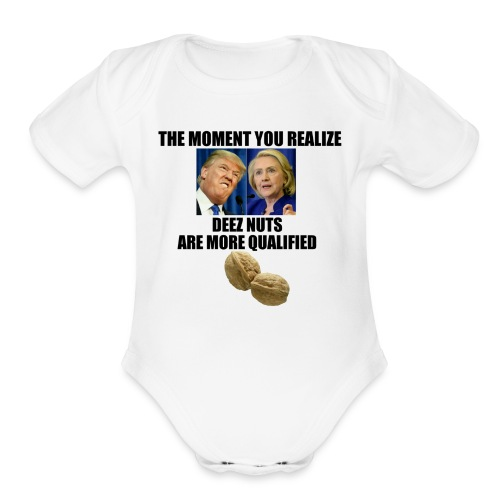 Election Year - Organic Short Sleeve Baby Bodysuit