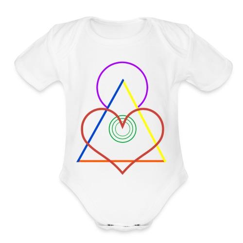 Angel - Organic Short Sleeve Baby Bodysuit
