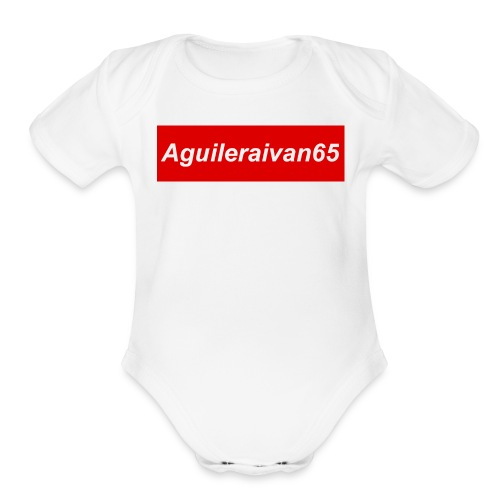 supreme shirt type of merch - Organic Short Sleeve Baby Bodysuit