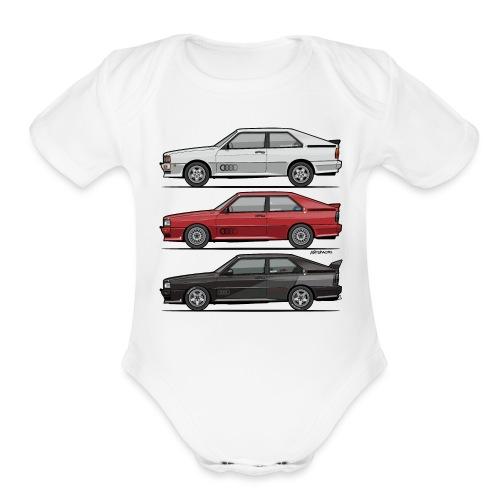 Four rings b2 urqu4ttro t - Organic Short Sleeve Baby Bodysuit