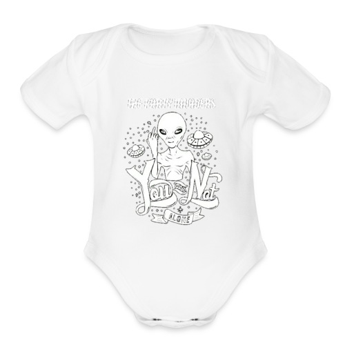 Hidden Lifeforms - Organic Short Sleeve Baby Bodysuit