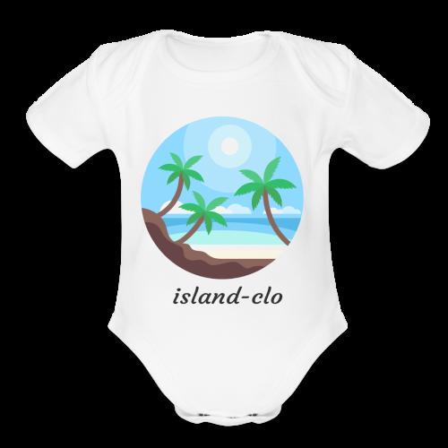 Island clothing - Organic Short Sleeve Baby Bodysuit