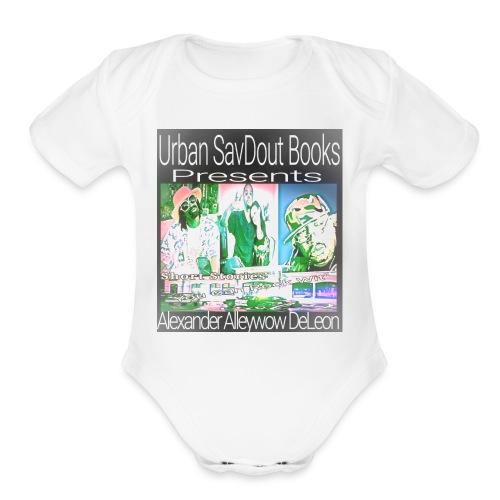 Short stories u can rock wit' 2 - Organic Short Sleeve Baby Bodysuit