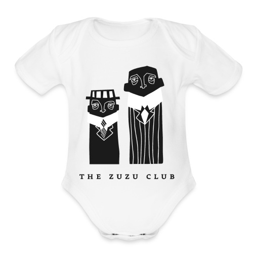 ZUZU_CLUB - Organic Short Sleeve Baby Bodysuit