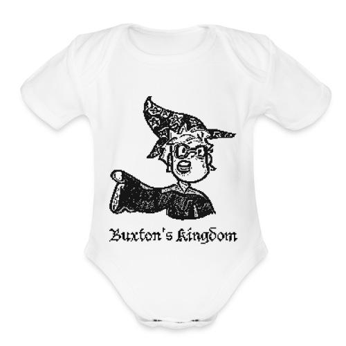 Buxton The Wizard - Organic Short Sleeve Baby Bodysuit