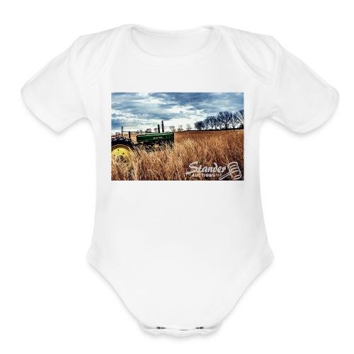 John Deere - Organic Short Sleeve Baby Bodysuit
