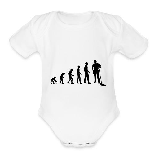 Evolution cleaning - Organic Short Sleeve Baby Bodysuit