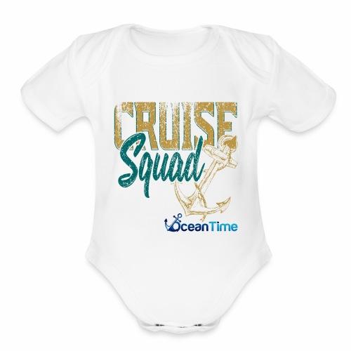 Cruise Squad - Organic Short Sleeve Baby Bodysuit