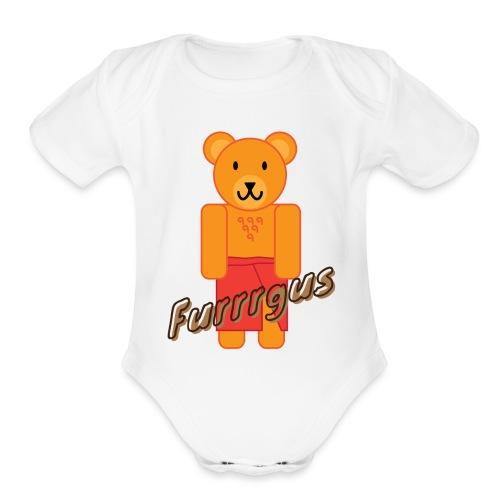 Presidential Suite Furrrgus - Organic Short Sleeve Baby Bodysuit