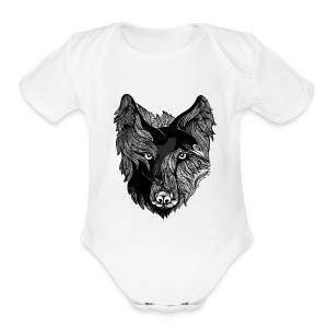 Odin-Born - Short Sleeve Baby Bodysuit