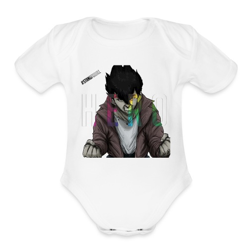 Stand For All - Organic Short Sleeve Baby Bodysuit