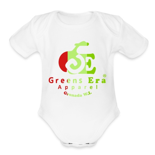 Greens Era Official Apparel - Organic Short Sleeve Baby Bodysuit