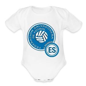 El Salvador National Soccer Team Hoodie - Short Sleeve Baby Bodysuit