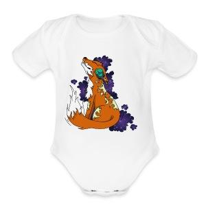 music Fox - Short Sleeve Baby Bodysuit