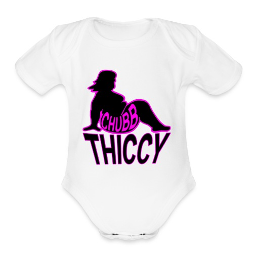 Chubb Thiccy - Organic Short Sleeve Baby Bodysuit