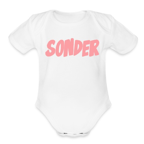 SONDER LOGO - Organic Short Sleeve Baby Bodysuit
