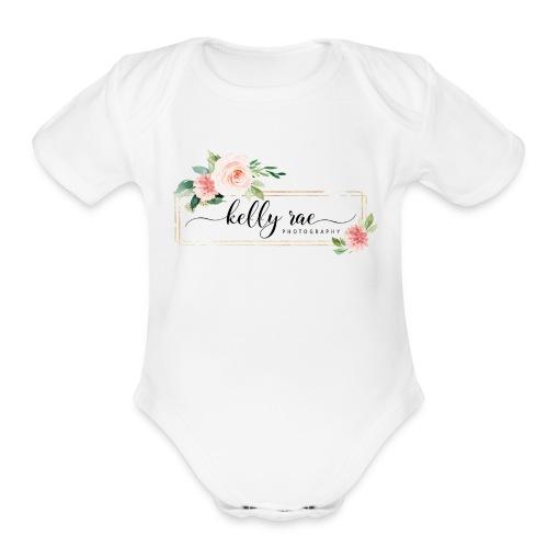 KRP Black - Organic Short Sleeve Baby Bodysuit