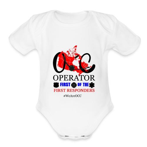 We Are OCC Plus Size - Organic Short Sleeve Baby Bodysuit