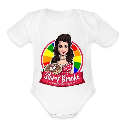 St Pete Pride 2017 - Organic Short Sleeve Baby Bodysuit