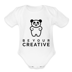 BeYourCreative BLK - Short Sleeve Baby Bodysuit