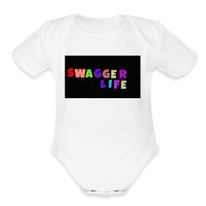 Swagger life product - Short Sleeve Baby Bodysuit