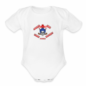 Jerry's Red Light District Podcast - Short Sleeve Baby Bodysuit