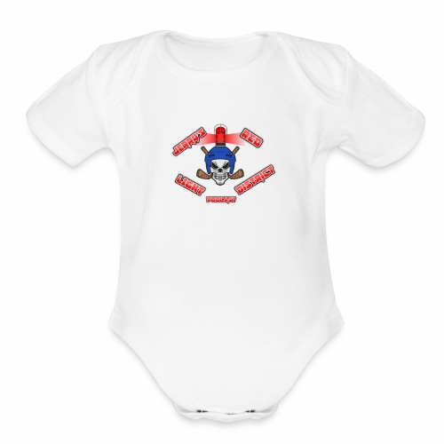 Jerry's Red Light District Podcast - Organic Short Sleeve Baby Bodysuit