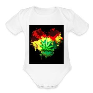Mary Jane - Short Sleeve Baby Bodysuit